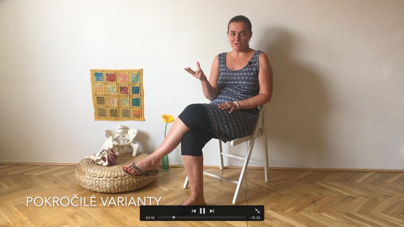18. video - pokročilé varianty cvičení povrstvách