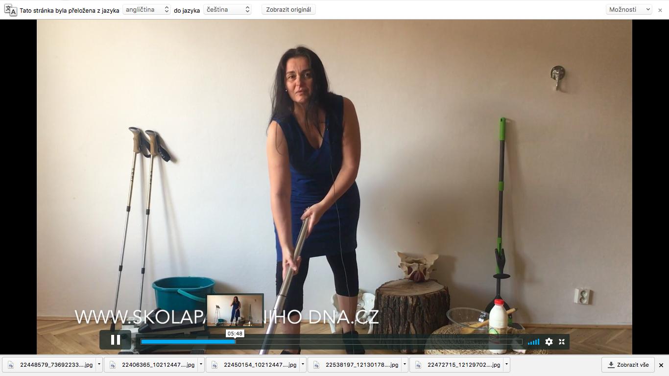 12. video - používání pánevního dna ve všedním dni