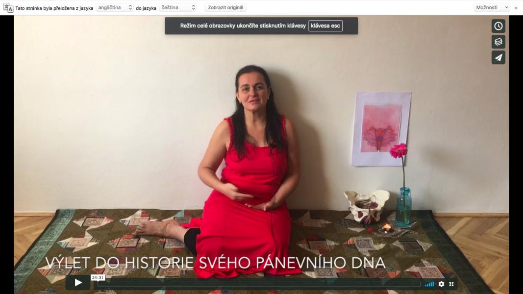 10. video - psychosomatika ženské pánve